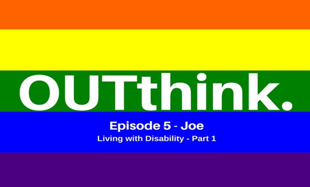 OUTthink Podcast Gay Lesbian Bisexual LGBT LGBTQI LGBTQIA Disability Surrender Acceptance Hypnotherapy Hypnosis Melbourne