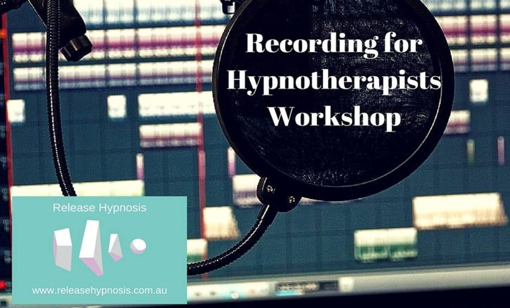 Recording for Hypnotherapists Workshop Remix Release Hypnosis Hypnotherapy HQ Record Hypnotism Scripts