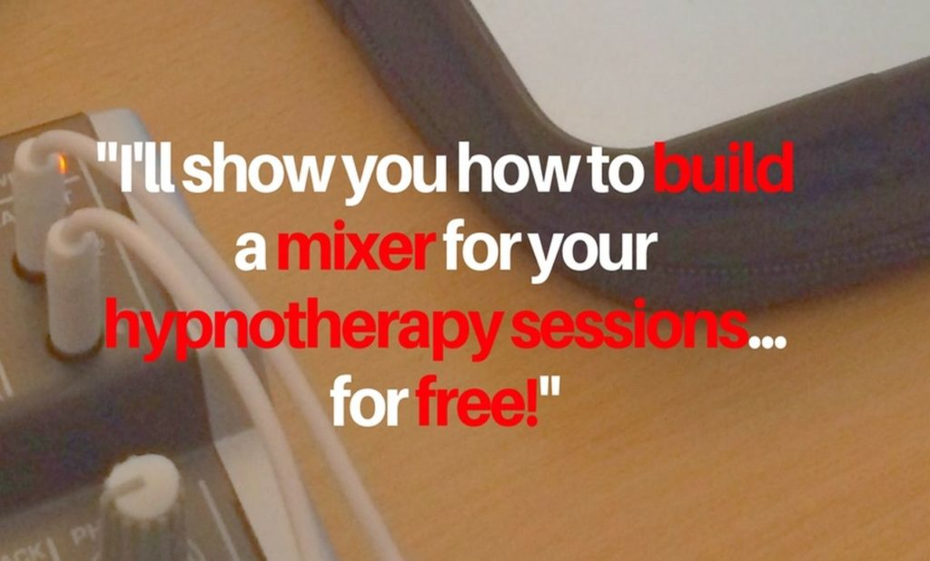 Hypnotherapy Equipment Mixer Release Hypnosis Facebook Live Webinar Hypnotherapy Melbourne Counselling St Kilda Rd