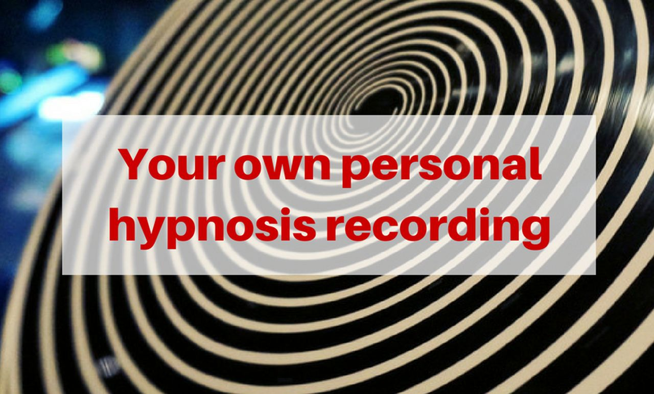 Your own personal hypnosis recording Release Hypnosis Melbourne Hypnotherapy Counselling St Kilda Rd