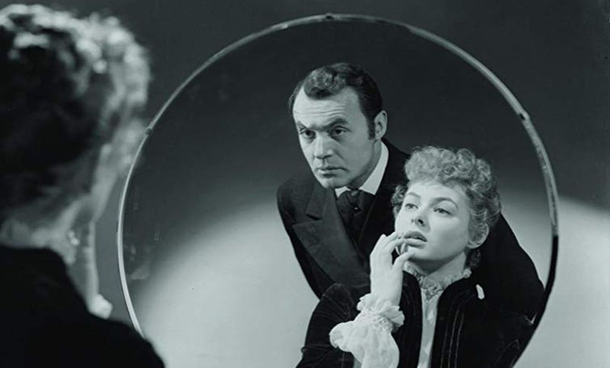 Ingrid Bergman and Charles Boyer in Gaslight (1944), the film that inspired the now widely used term.
